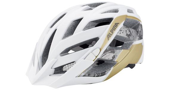 Alpina Panoma L.E. hjelm beige/hvid
